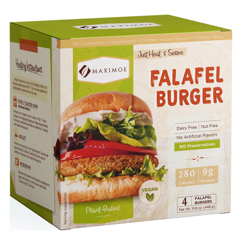 Maximoe Falafel Burger Original
