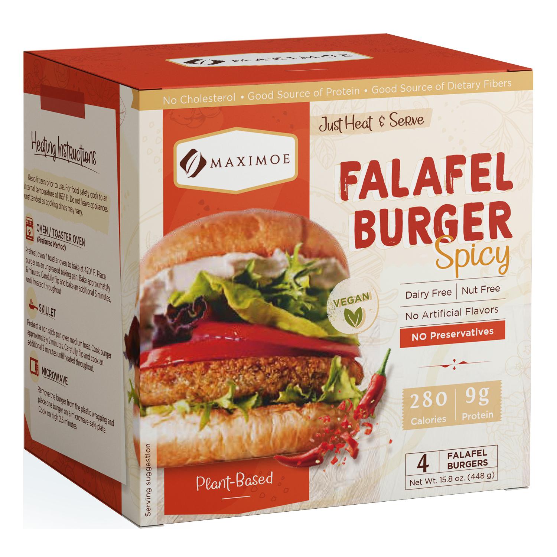 Maximoe Falafel Burger Spicy